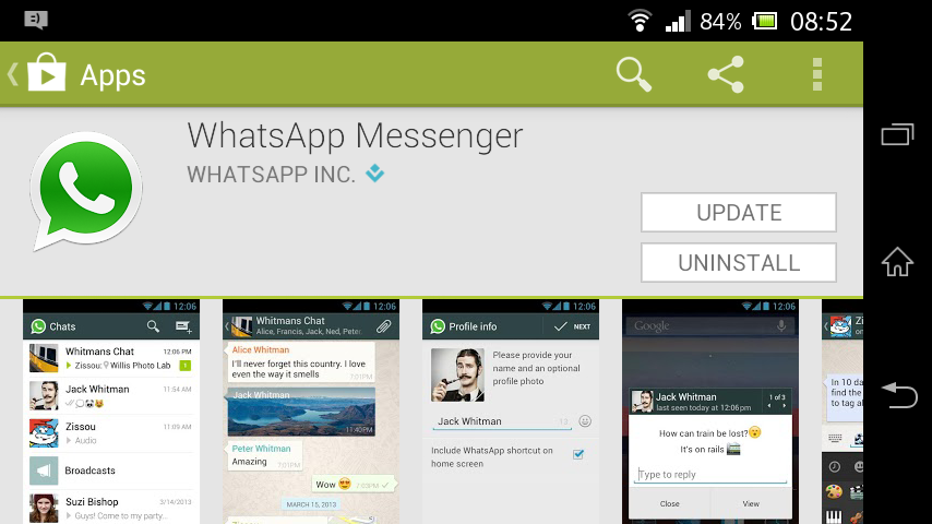 hide your identity with whatsapp