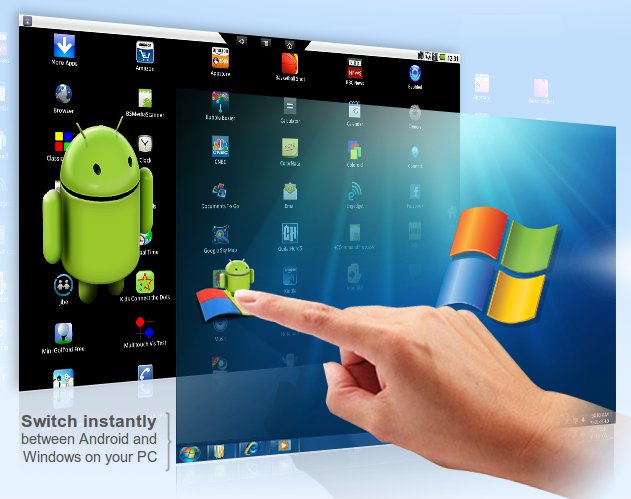 android apps on pc