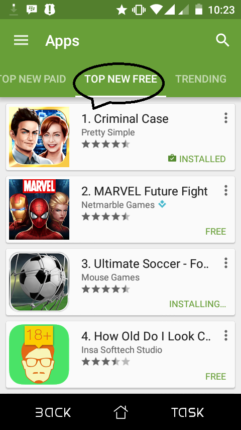 criminal case play store