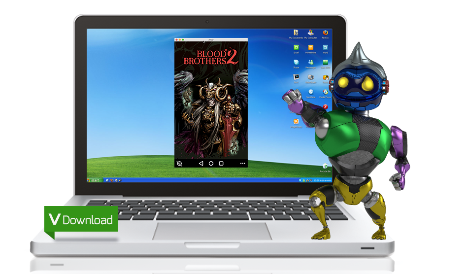 download install andy emulator for pc