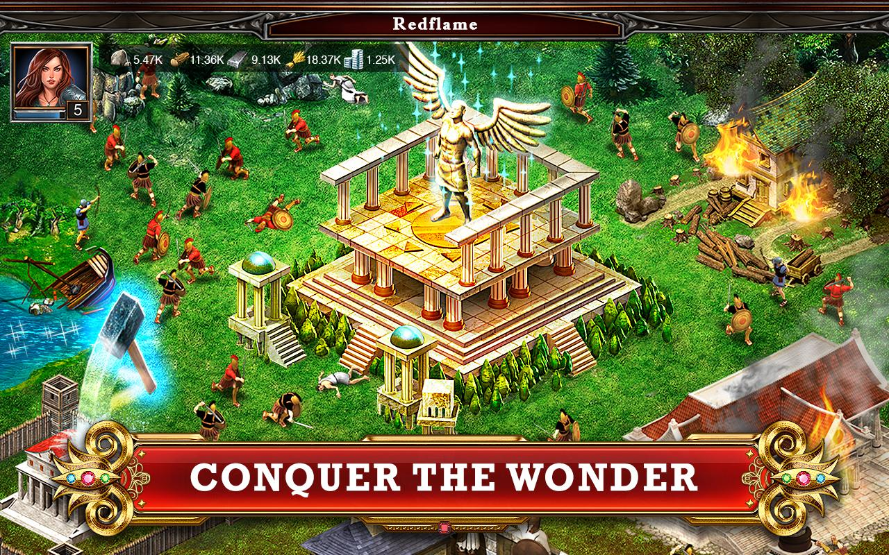 game of war conquer the wonder