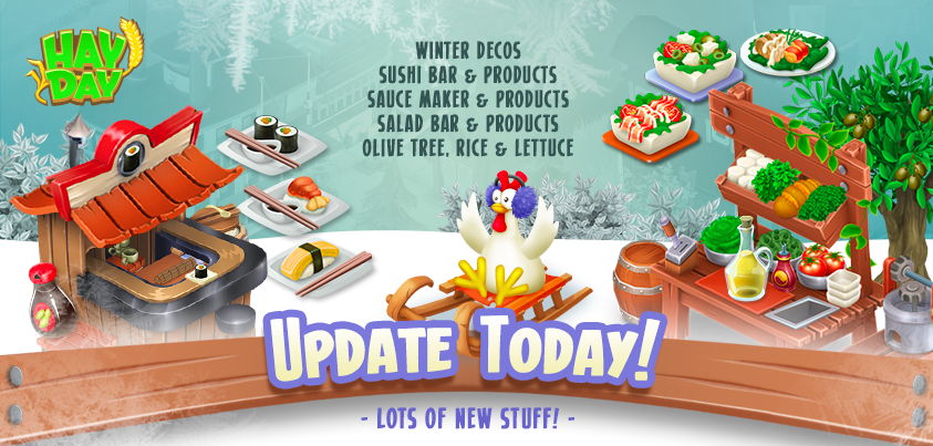 hay day updates