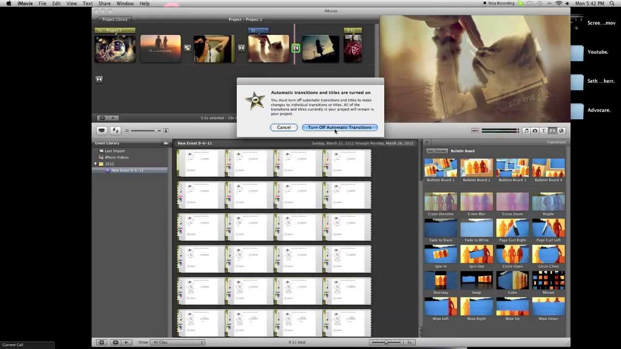 imovie and Mac