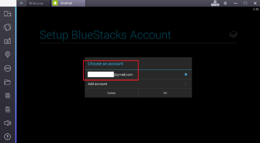 snapseed for pc setup account